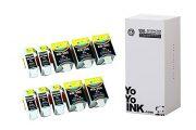 Compatible Kodak 30B/30C XL High Yield Ink Cartridges: 5 Black & 5 Color (10 Pack)