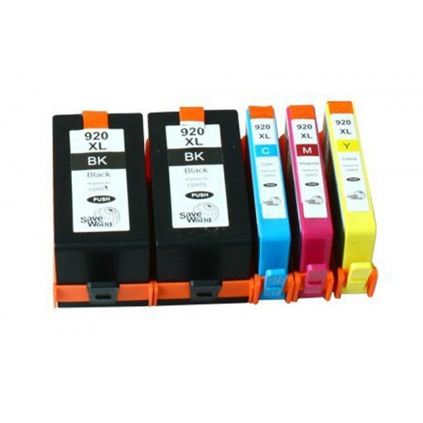 HP 920XL Remanufactured Printer Ink Cartridges