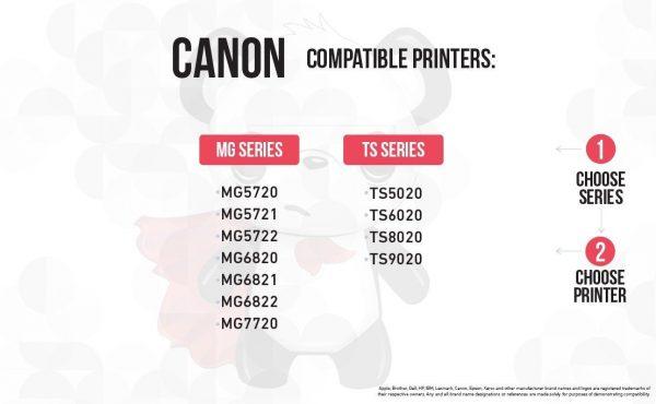 Compatible Canon PGI-270 / CLI-271 XL High Yield Ink Cartridges: 2 Big Black 2 Black 2 Cyan 2 Magenta 2 Yellow (10 Pack)