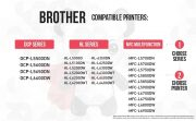 Compatible Brother TN850 Black High Yield Toners (2 Black)