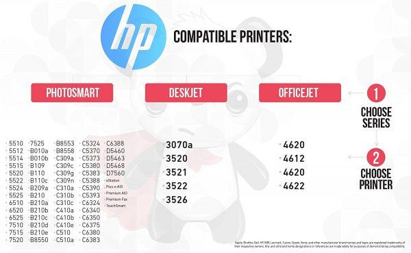 Remanufactured Hewlett Packard (HP 564XL) High Yield Ink Cartridges: 5 Black & 2 each of Cyan / Magenta / Yellow (10 Pack)