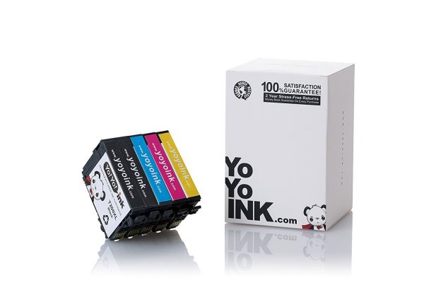 Remanufactured Epson 200 XL High Yield Ink Cartridges: 2 Black