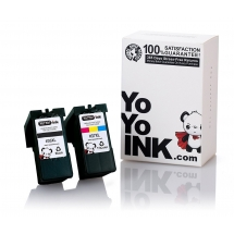 Lexmark 36XL Black & 37XL Remanufactured Color Printer Ink Cartridges