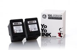 Remanufactured Hewlett Packard (HP 60XL) CC641WN Black High Yield Ink Cartridge (2 Black)