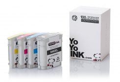 Remanufactured Hewlett Packard (HP 940XL) High Yield Ink Cartridges: 1 Black