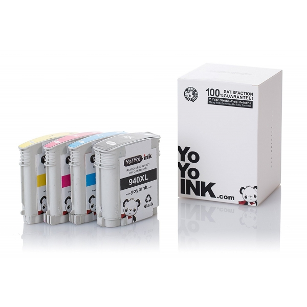 HP 940XL Remanufactured Printer Ink cartridges
