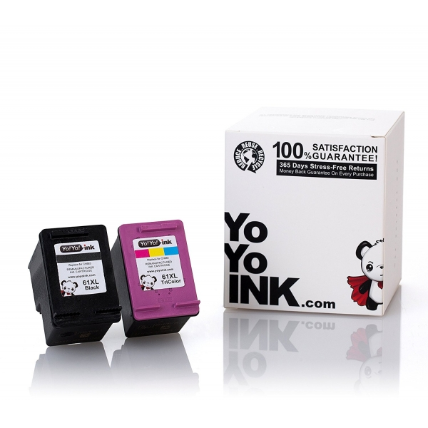 HP 61XL Remanufactured Printer Ink Cartridges