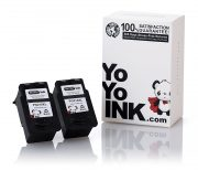 Remanufactured Canon PG-210XL High Yield Black Ink Cartridge (2 Black)