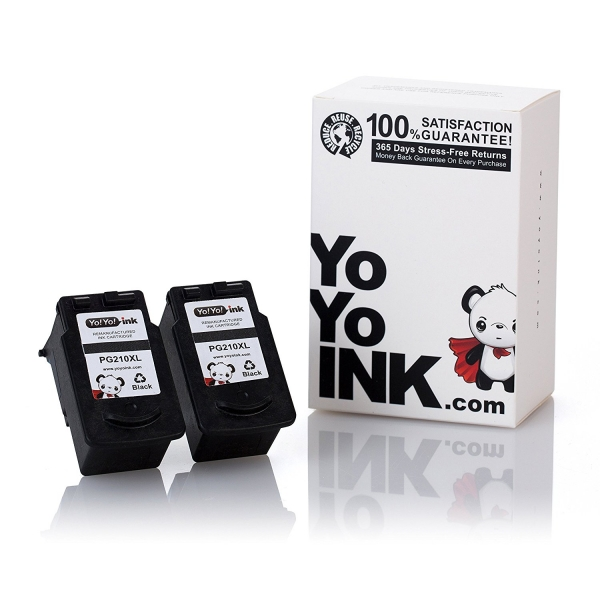 Canon PG-210 XL Remanufactured Printer Ink Cartridges