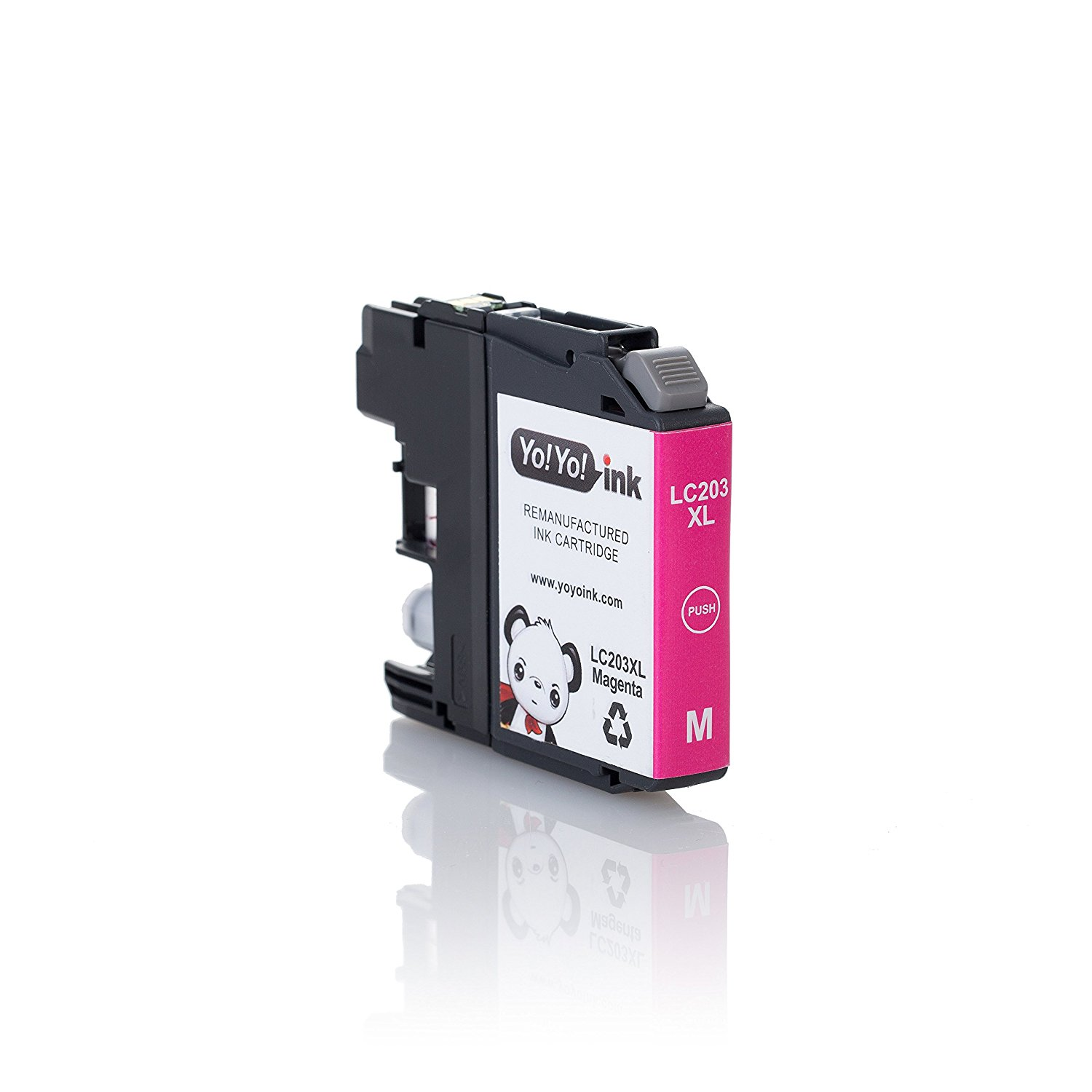 Compatible Brother LC203 XL High Yield Ink Cartridges: 4 Black & 2 each of Cyan / Magenta / Yellow (10 Pack)