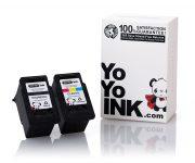 Remanufactured Canon PG-240XXL Black & CL-241XL Tri-Color Super High Yield Ink Cartridge (1 Black