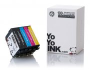 Remanufactured Epson 220 XL High Yield Ink Cartridges: 2 Black
