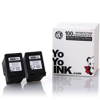 Remanufactured Hewlett Packard (HP 61XL) CH563WN Black High Yield Ink Cartridge (2 Black)