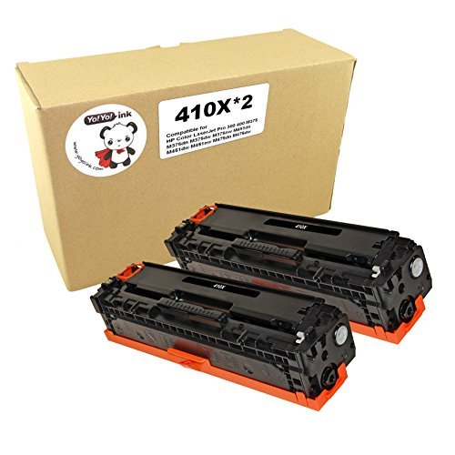 Remanufactured Laser Toner Cartridges Replacement for HP 305X High Yield CE410X