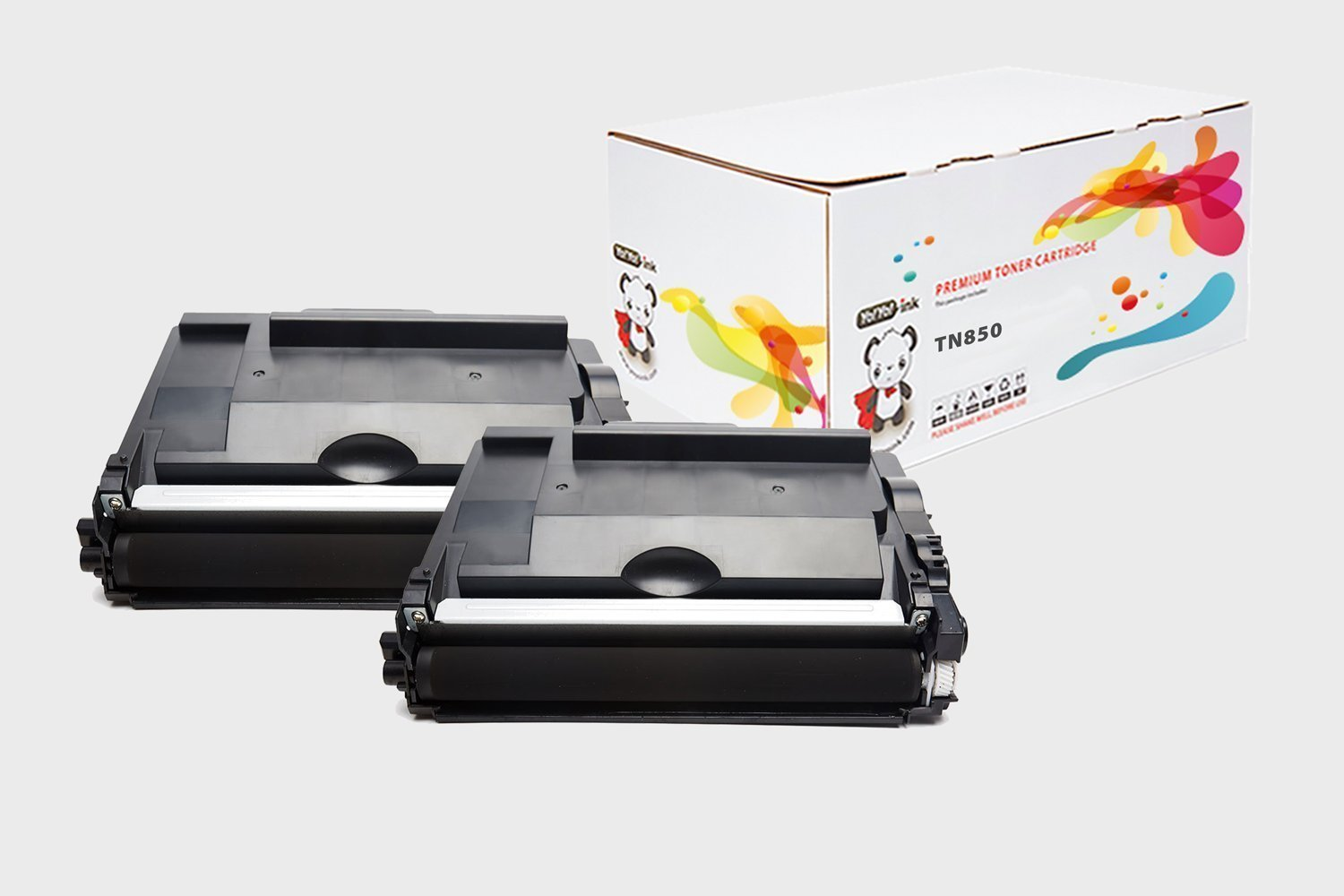 Compatible Toner Cartridge Replacement for Brother TN850 TN820 High Yield (2-Pack Black) for HL-L6200DW HL-L6300DW