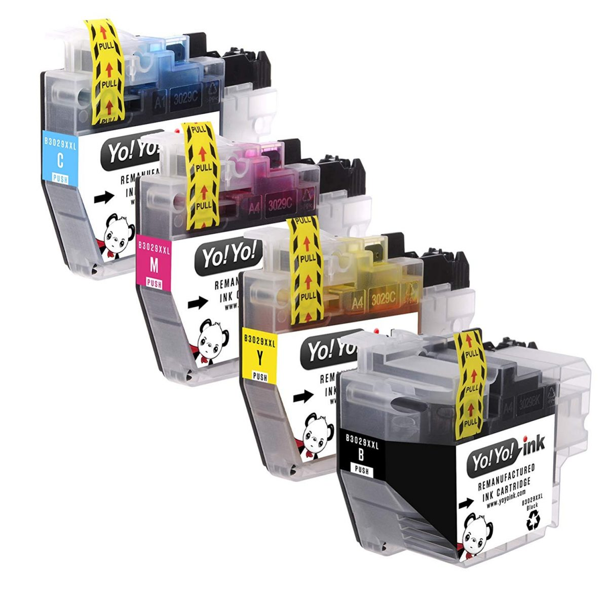 YoYoInk Compatible Ink Cartridge Replacement for Brother LC-3029 LC3029 XXL (1 Black