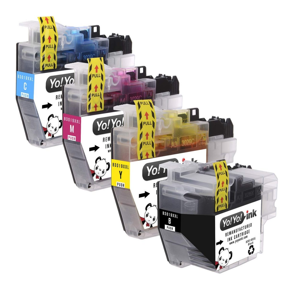 YoYoInk Compatible Ink Cartridge Replacement for Brother LC-3019 LC3019 XXL (1 Black