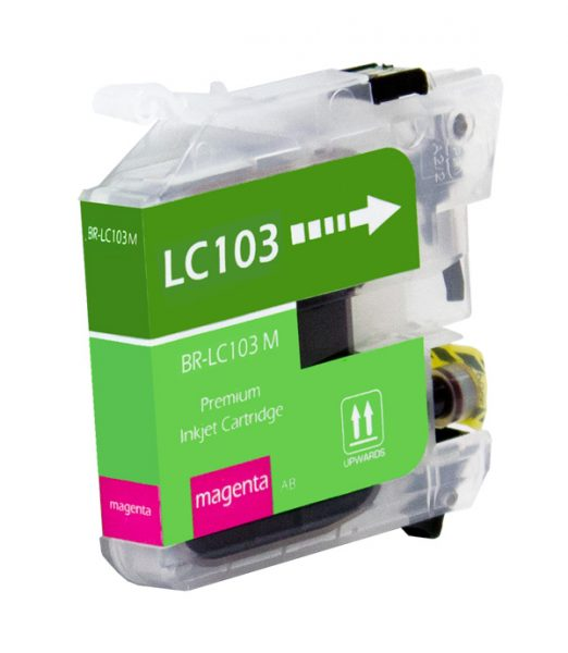 Brother LC103 Magenta Compatible Printer Ink Cartridge