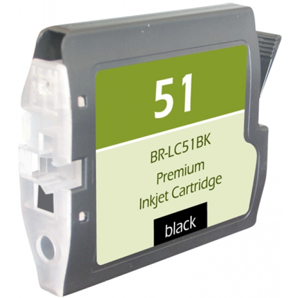 Brother LC51 Black Compatible Printer Ink Cartridge