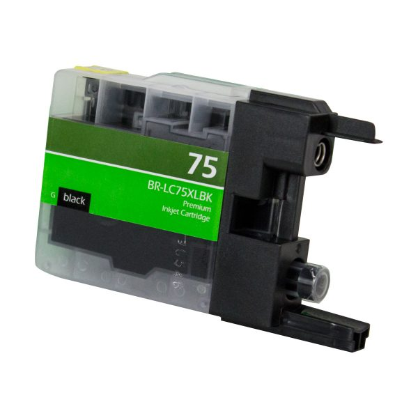 Brother LC75 High Yield Black Compatible Printer Ink Cartridge