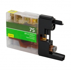 Brother LC75 High Yield Yellow Compatible Printer Ink Cartridge