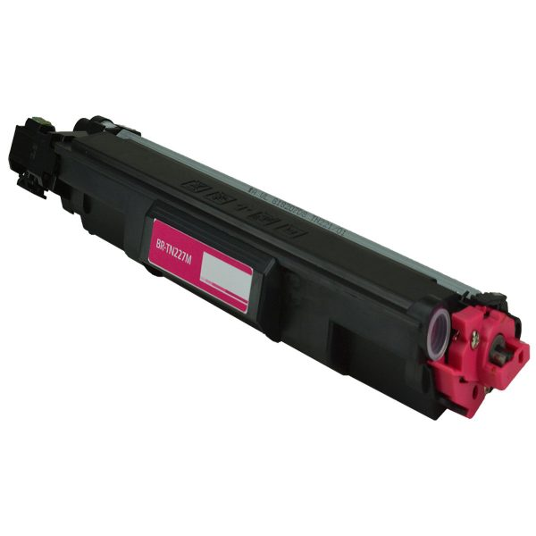 Brother TN227M High Yield Magenta Compatible Toner Cartridge