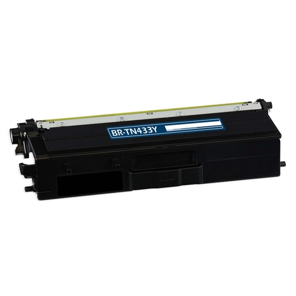 Brother TN433Y Yellow Compatible Toner Cartridge