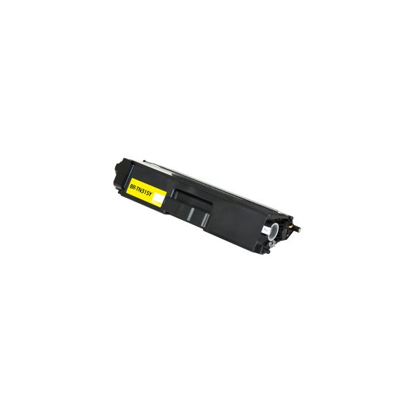 Brother TN315Y High Yield Yellow Compatible Toner Cartridge