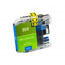 Brother LC203 High Yield Cyan Compatible Printer Ink Cartridge
