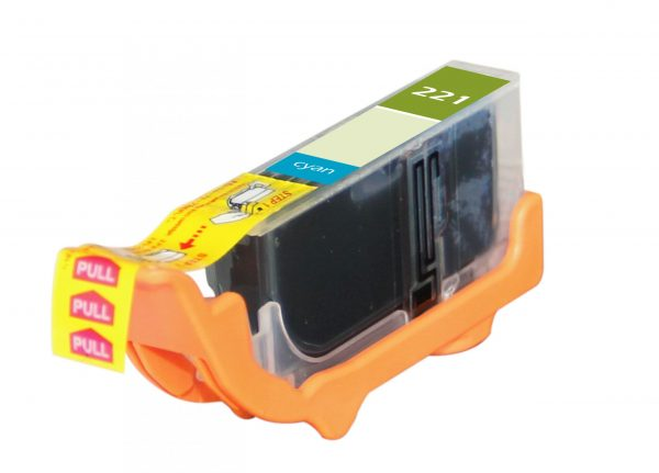 Canon CLI-221 Cyan Compatible Printer Ink Cartridge