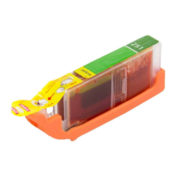 Canon CLI-251 XL High Yield Yellow Compatible Printer Ink Cartridge