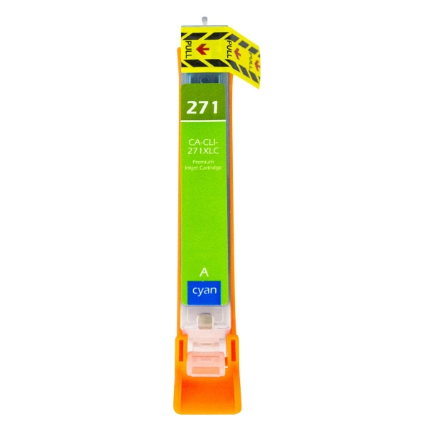 Canon CLI-271 XL High Yield Cyan Compatible Printer Ink Cartridge
