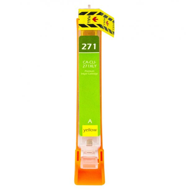 Canon CLI-271 XL High Yield Yellow Compatible Printer Ink Cartridge