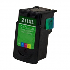 Canon PG-211 XL High Yield Color Remanufactured Printer Ink Cartridge
