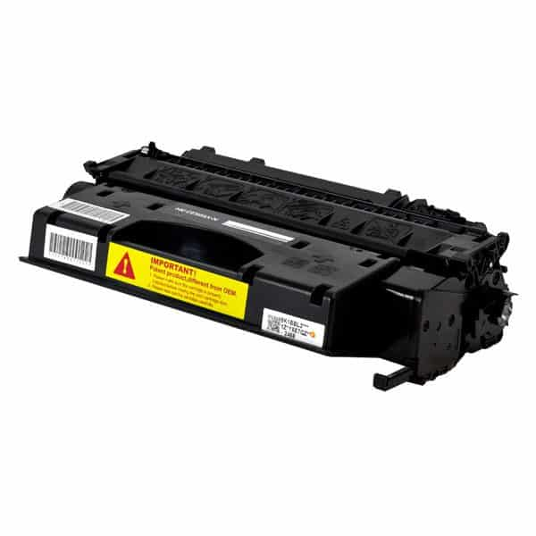 HP05X High Yield Black Compatible Toner Cartridge