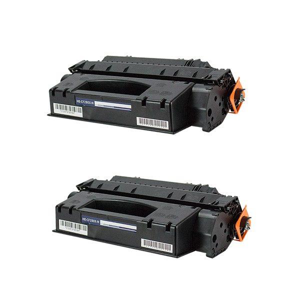 HP80X High Yield Black Compatible Toner Cartridge