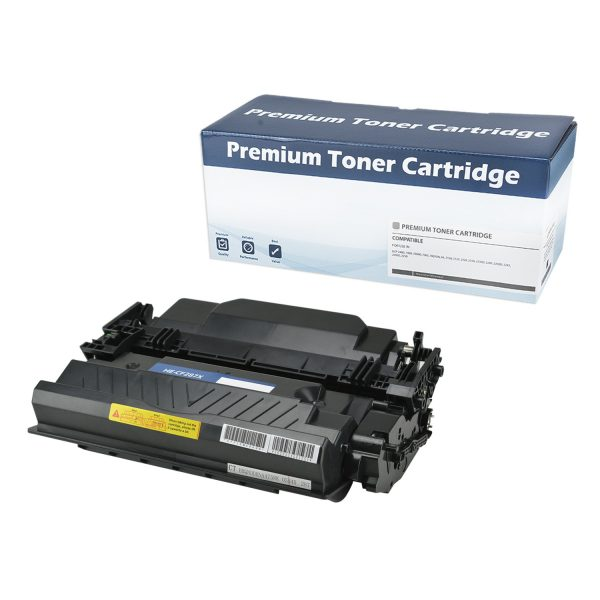 HP87X High Yield Black Compatible Toner Cartridge