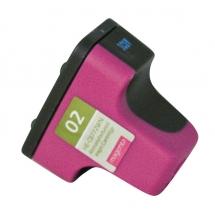 HP02 Magenta Remanufactured Printer Ink Cartridge