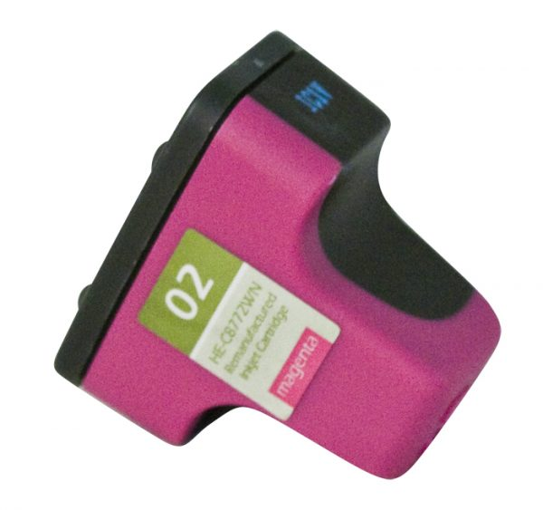 HP02 Magenta Remanufactured Printer Ink Cartridge