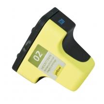 HP02 Yellow Remanufactured Printer Ink Cartridge