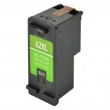 HP62 XL High Yield Black Remanufactured Printer Ink Cartridge