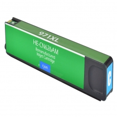 HP971 XL High Yield Cyan Remanufactured Printer Ink Cartridge