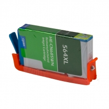 HP564 XL High Yield Cyan Remanufactured Printer Ink Cartridge