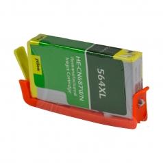 HP564 XL High Yield Yellow Remanufactured Printer Ink Cartridge