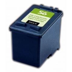 HP56 Black Remanufactured Printer Ink Cartridge