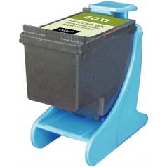 HP60 XL High Yield Black Remanufactured Printer Ink Cartridge