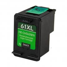 HP61 XL High Yield Black Remanufactured Printer Ink Cartridge