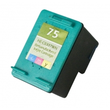 HP75 Color Remanufactured Printer Ink Cartridge