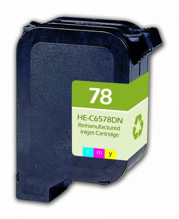 HP78 Black Remanufactured Printer Ink Cartridge