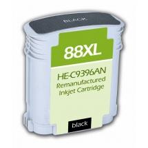 HP88 XL High Yield Black Remanufactured Printer Ink Cartridge